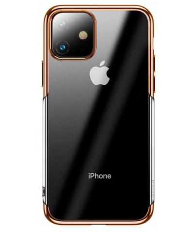 Чехол Baseus Shining Case For iPhone 11, Золотой