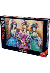 Puzzle Kadınlar Partisi. Ladies Party 1000 pcs