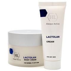 Holy Land Lactolan Moist Cream For Dry Skin - Увлажняющий крем для сухой кожи
