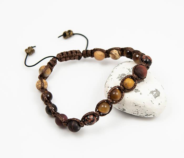 Boroda Design, Мужская шамбала из камней, ручная работа