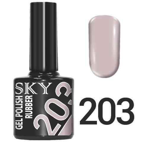 Sky Гель-лак трёхфазный тон №203 10мл