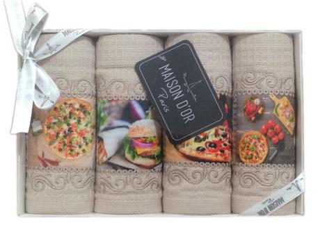 Набор для кухни  PIZZA DOR - ПИЦЦА ДОР в размере 30х50 Maison Dor (Турция)