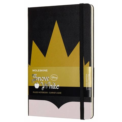 Блокнот Moleskine Limited Edition SNOW WHITE LESNQP060CR Large 130х210мм 240стр. линейка Crown (Корона)