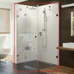 Душевой уголок с распашной дверью 120х90х195 см левый Ravak Brilliant BSDPS-120/90 L 0ULG7A00Z1 фото