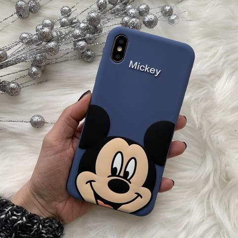 Чехол силиконовый iPhone X/XS MAX /mickey/