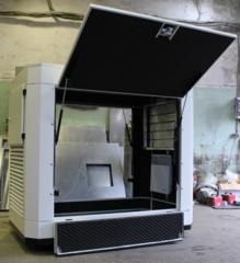 Всепогодный шумозащитный еврокожух SB1800 для дизельных генераторов