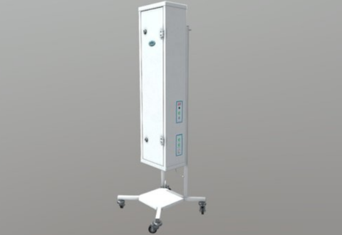 Облучатель-рециркулятор бактерицидный  «СИБЭСТ-20КС» с передвижной платформой «П № 1»