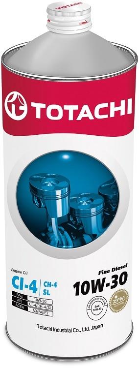 Fine Diesel 10W-30 TOTACHI масло минеральное дизельное моторное (1 Литр)