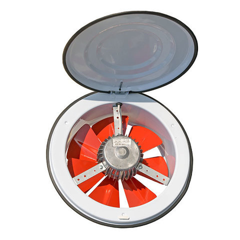 Осевой приточный оконный вентилятор Dundar K 16
