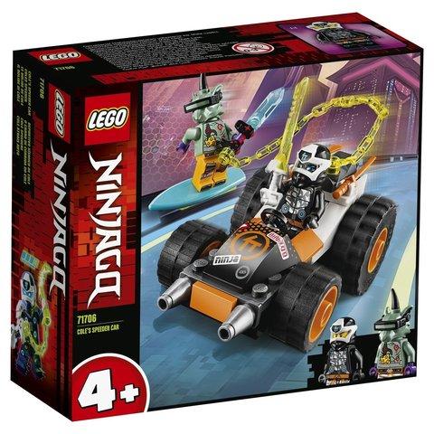 LEGO Ninjago: Скоростной автомобиль Коула 71706 — Cole's Speeder Car — Лего Ниндзяго