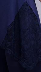 Адель. Повседневный костюм больших размеров. Синий.
