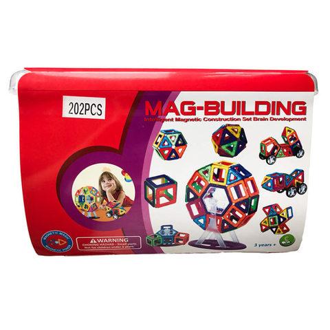 Магнитный конструктор Mag-Building 202 деталей