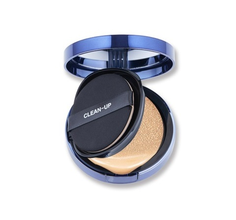 Антивозрастной BB Крем-Кушон CLEAN-UP Skinfit Cushion Pact (SPF50+/PA+++)