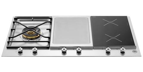 Комбинированная варочная панель Bertazzoni PM361IGX
