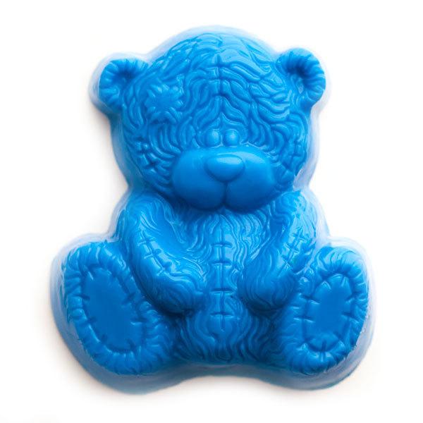 Пластиковая форма для мыла Мишка Тедди
