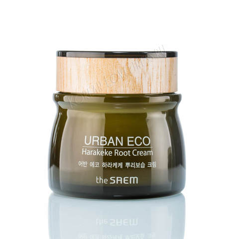 Крем для лица с экстрактом корня новозеландского льна The Saem Urban Eco Harakeke Root Cream, 60мл