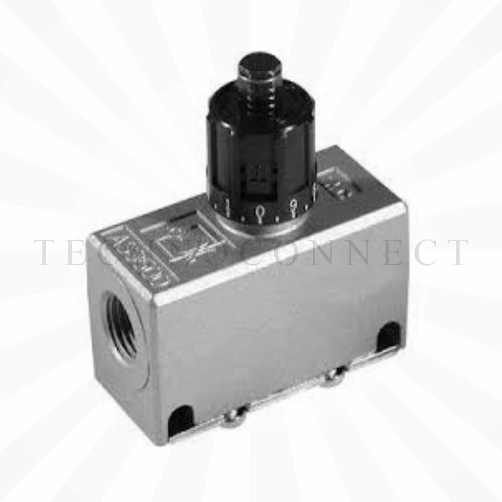 EAS600-F10  Дроссель с обратным клапаном, G1