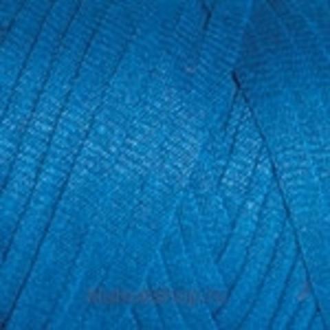 Ленточная пряжа YarnArt Ribbon цвет 780 Яркая бирюза - купить в интернет-магазине недорого klubokshop.ru
