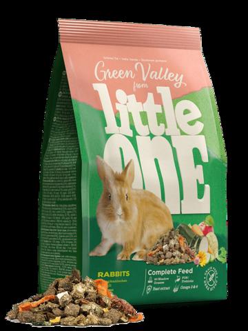 LITTLE ONE Green Valley корм для кроликов из разнотравья 750 г