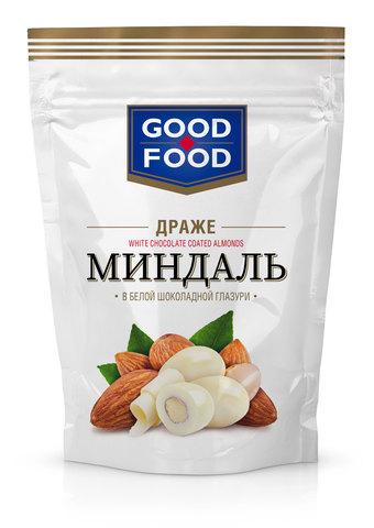 GOOD FOOD Миндаль в белой глазури 150г