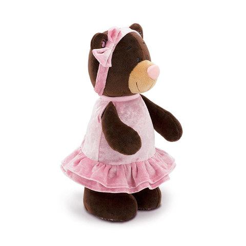 Медведь Milk бархатное сердце 25 M9031/25