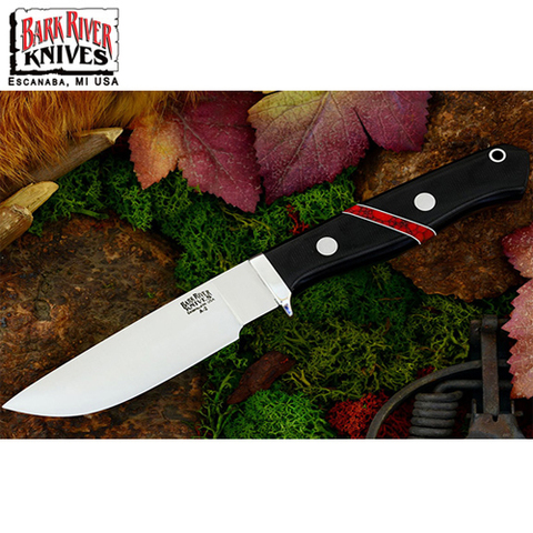 Нож Bark River модель Gameskeeper Black Canvas Micarta Bloody Ja