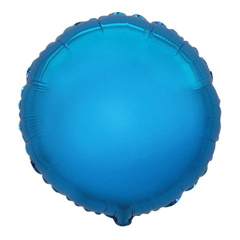 Шар-круг Синий, 45 см