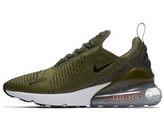 Кроссовки Мужские Nike Air Max 270 Olive/White