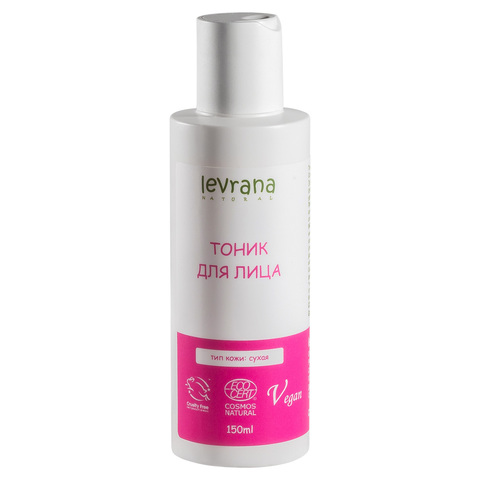 Тоник для сухой кожи, Levrana