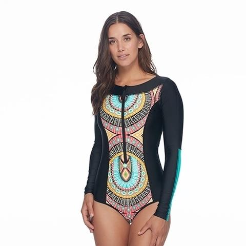 Купальник BODY GLOVE Culture Sand Bar Paddle Suit Swim One Piece