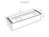 Автоматический биокамин Good Fire 800 INOX схема