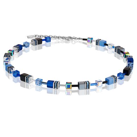 Колье Coeur de Lion 4014/10-0712 цвет синий, голубой, чёрный