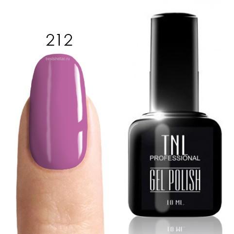 TNL Classic TNL, Гель-лак № 212 - китайский розовый (10 мл) 212.jpg