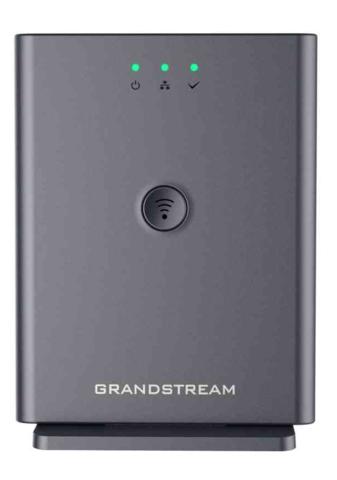 Grandstream DP752 - IP DECT базовая станция. 10 SIP аккаунтов, 10 линий, до 5 трубок/5 одновременных вызовов, поддержка Push-to-Talk, крепление на потолок.