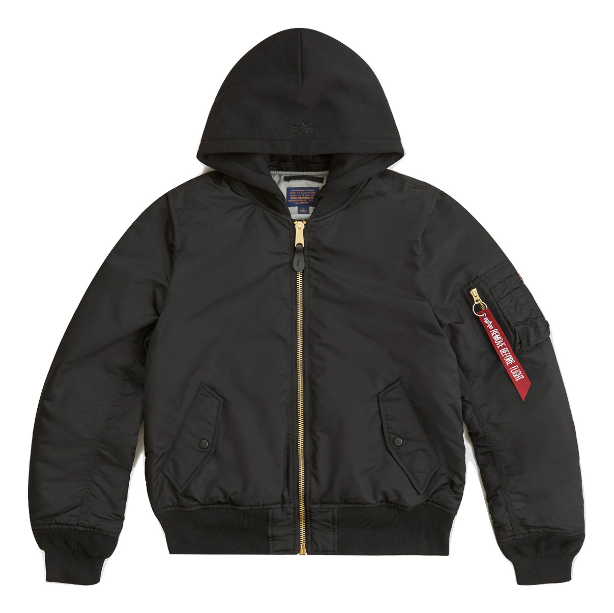 Куртка Alpha Industries MA-1 Natus W Black