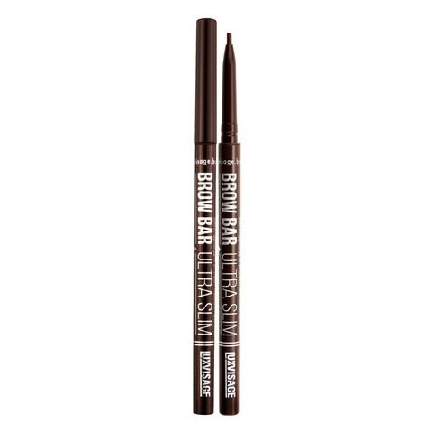 LuxVisage Brow Bar ultra slim Механический карандаш для бровей тон 304 (Chocolate)