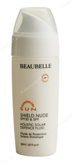 Шилд Ньюд - флюид для защиты от солнца (Beaubelle | Система солнечной защиты SPF, EPF, PPD | Shield Nude SPF 30 Holistic Solar Defence Fluid), 50 мл.