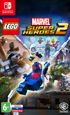 LEGO Marvel Super Heroes 2 (Nintendo Switch, русские субтитры)