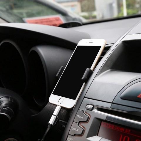 Автомобильный держатель для телефона на воздуховод