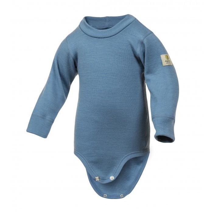 Janus, Боди Baby wool, пепельно-синий