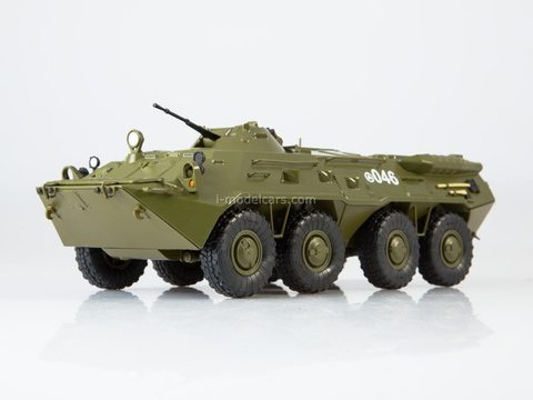 Armored personnel carrier BTR-80 Our Tanks #26 MODIMIO Collections