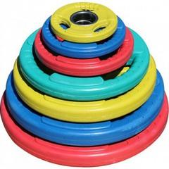 Диск олимпийский цветной DY-H-2012-5,0 кг