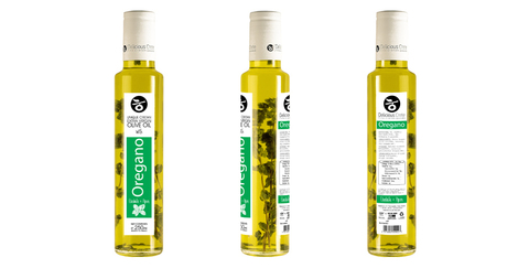 Оливковое масло с орегано Delicious Crete 250 мл