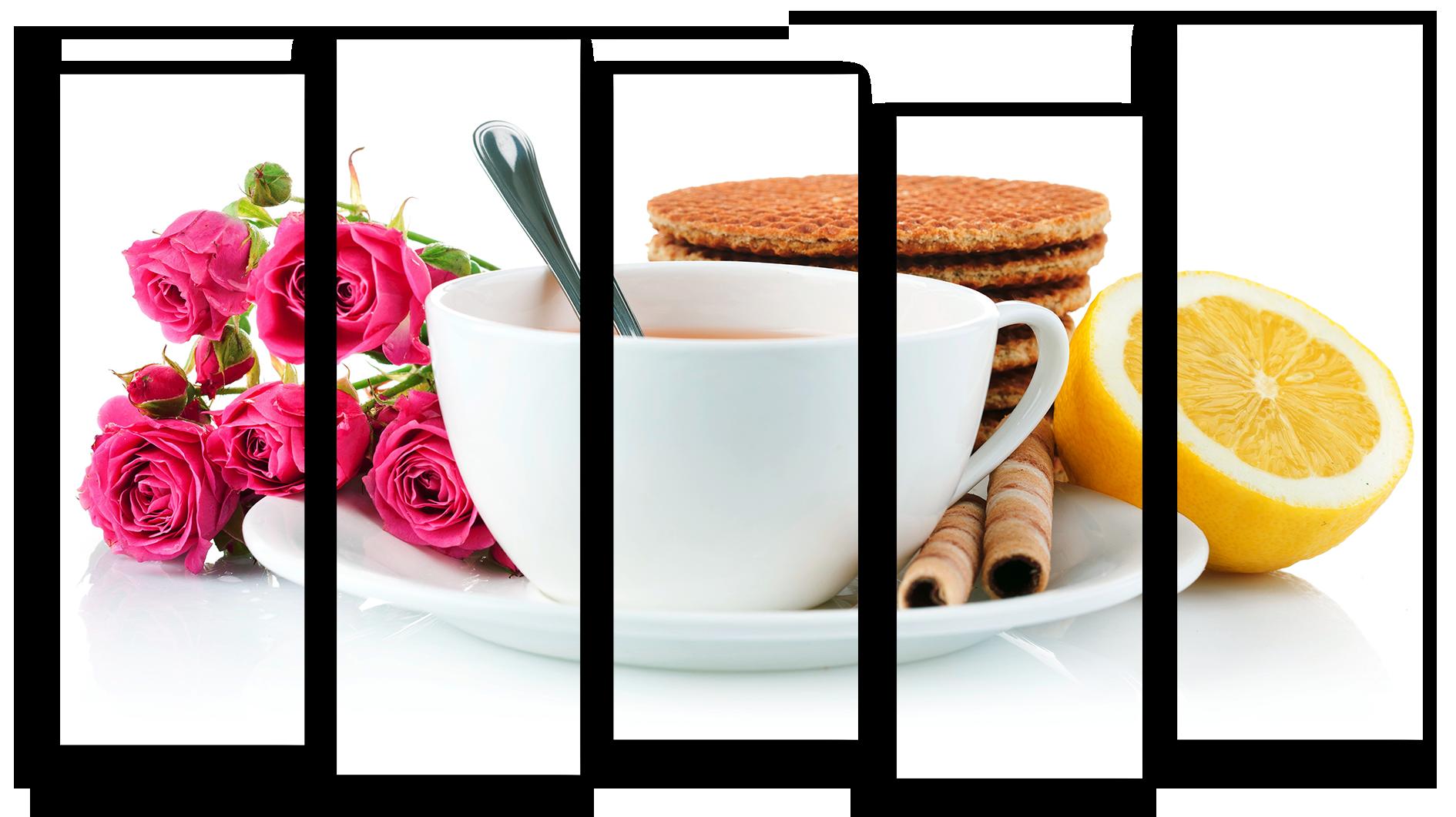"""Модульные картины Модульная картина """"Вкусный чай"""" М1166.png"""