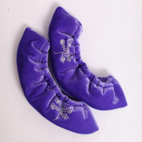 Сушки для лезвий бархатные (фиолетовый)