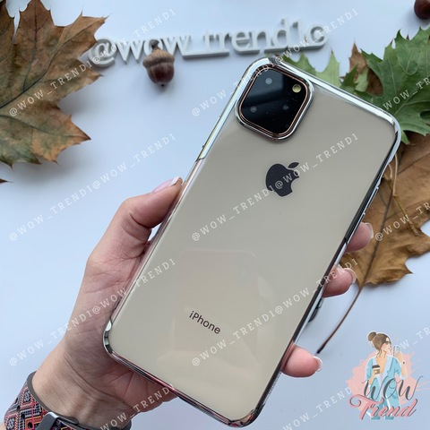 Чехол iPhone 11 Pro Baseus Shining Case /silver/