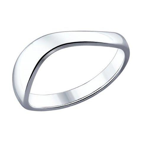 94011890- Фаланговое кольцо из серебра