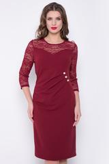 <p>Вау! Ваша сексуальность не имеет границ!&nbsp; Вы - бриллиант! Очень красивое платье, которое подойдет любому типу фигуры. Благодаря драпировке и ряду декоративных пуговиц образ становится более утонченный. (Длины: 46-50=101см; 52-54=102см)&nbsp;</p>