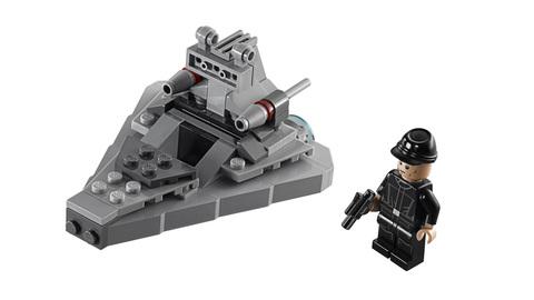 LEGO Star Wars: Звёздный разрушитель 75033 — Star Destroyer — Лего Стар ворз Звёздные войны Эпизод