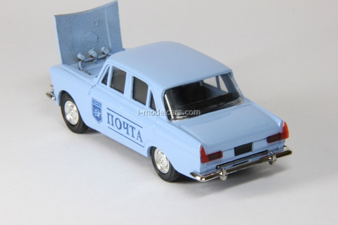 Moskvich-408 Post Agat Mossar Tantal 1:43